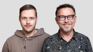 Porträtt av Jonas Lindell och Roger Strömberg