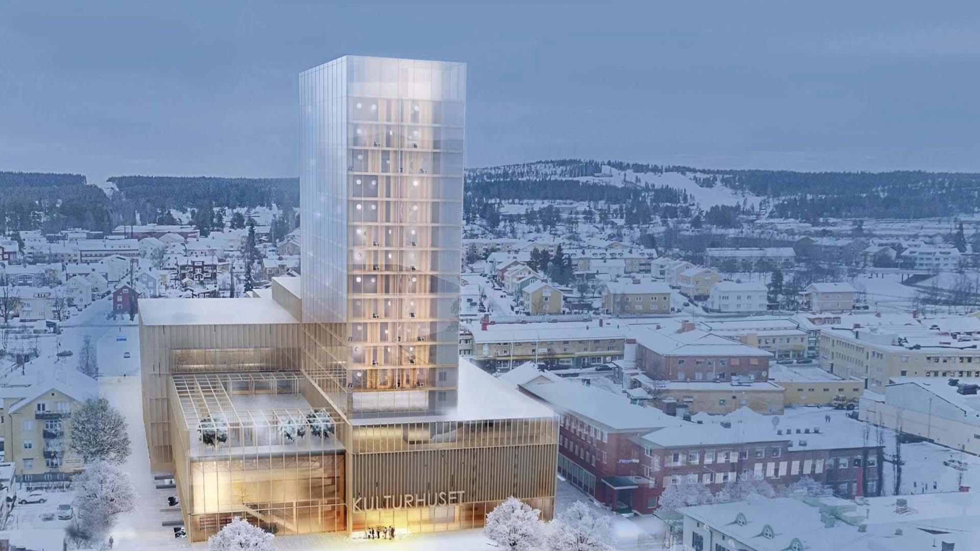 Läs mer om artikeln Nordiska Brand i stort reportage om sprinklerprojekteringen i Sveriges högsta trähus